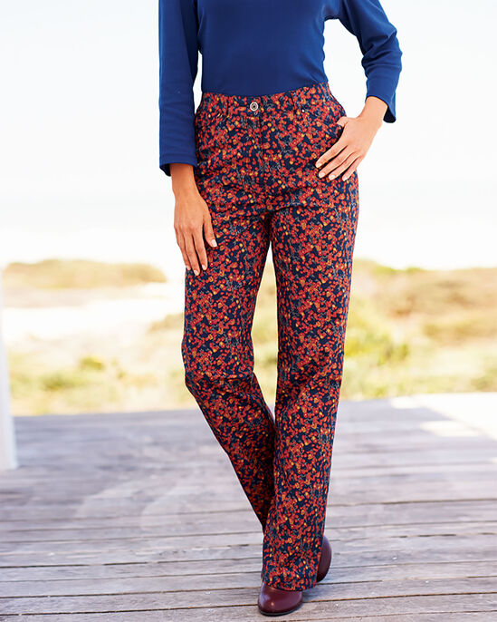 Print Chino Trousers