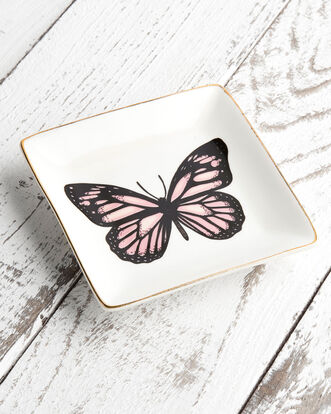 Thistle and Thorn Butterfly Ring Dish