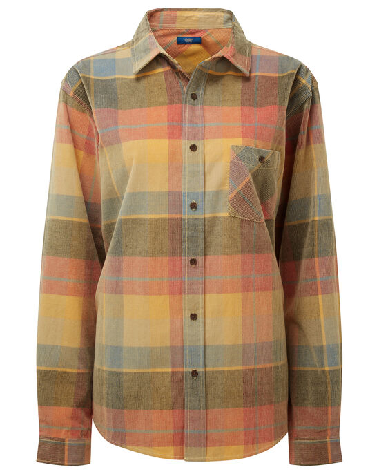 Long Sleeve Check Cord Shirt