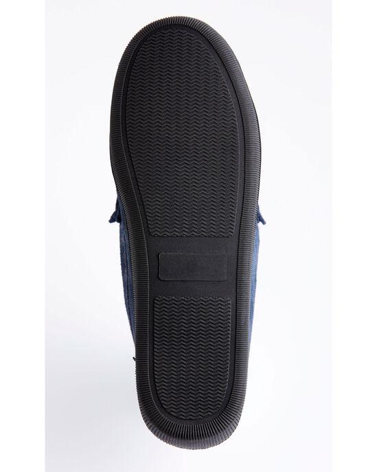 Suede Memory Foam Moccasin Slippers