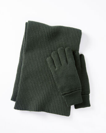 Thinsulate Scarf and Gloves Set