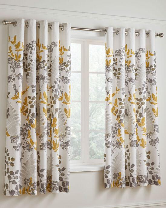 "Eden Eyelet Curtains 66x72"""