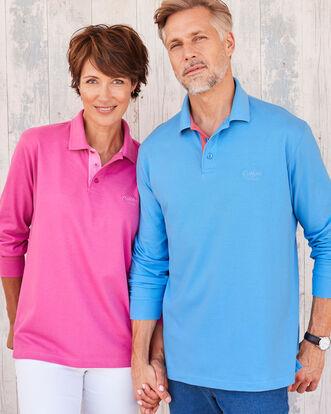 Long Sleeve Polo Shirt 98bb77a63f4f