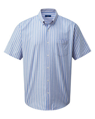 Bluebell Short Sleeve Classic Oxford Shirt