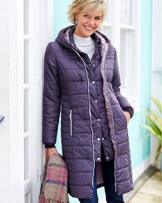Padded Hooded Coat