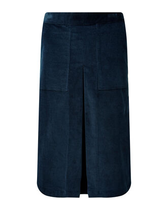 Pull-on Stretch Cord Skirt