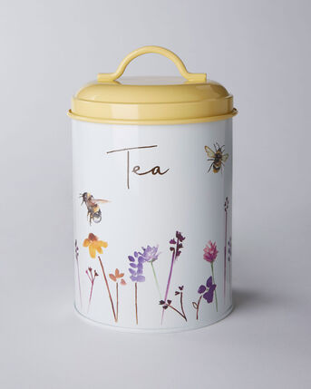Busy Bee Tea Canister