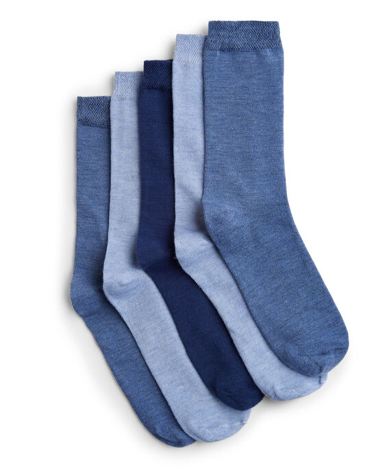 5 Pack Comfort Top Supersoft Socks