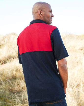 Short Sleeve Classic Panelled England Rugby Shirt