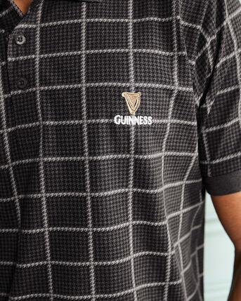 Guinness™ Short Sleeve Check Polo Shirt