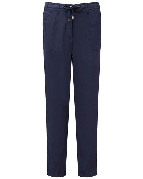 Relaxed Drawcord Trousers