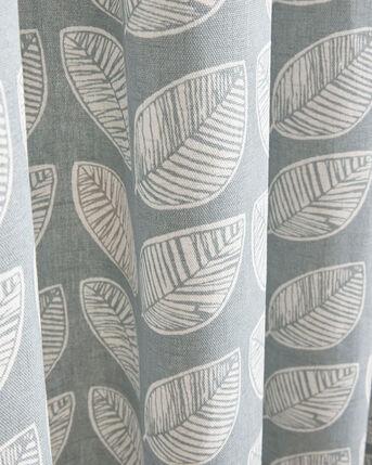 Leaf Print Eyelet Curtains