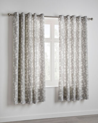 Elegance Eyelet Curtains 66x72""