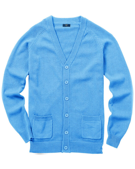 Cotton Button-through Cardigan