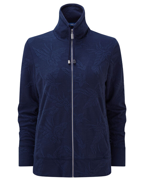 Jersey Jacquard Travel Jacket