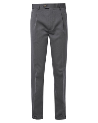 Flat Front Luxury Trousers