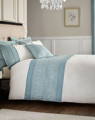 Ornate Panel Duvet Set