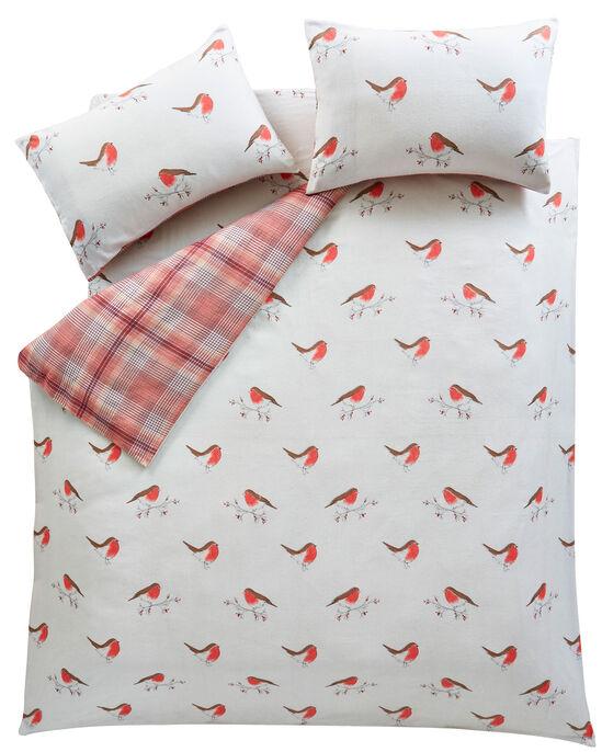 Robin Check Brushed Cotton Duvet Set