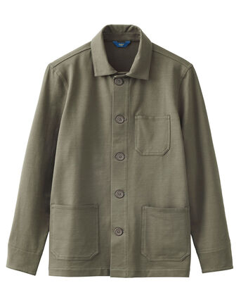 Coastal Cotton Jersey Jacket