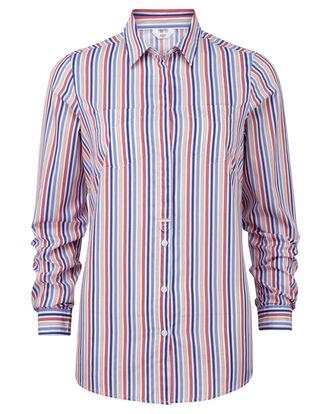 Stripe Wrinkle Free Shirt