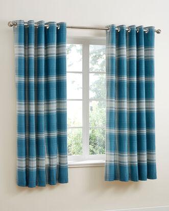 """Mckenna Eyelet Curtains 66x72"""""""