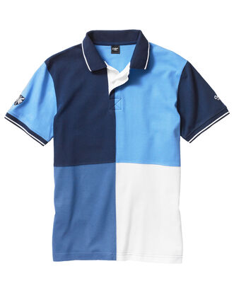 Panelled Detail Polo Shirt