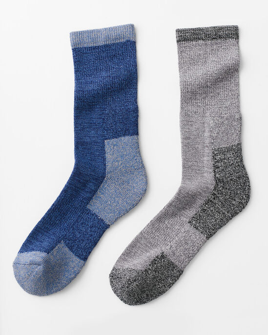 2 Pack Cushion Sole Walking Socks