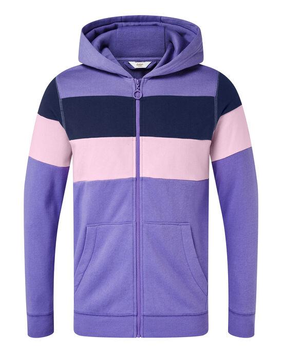 Stripe Hooded Jacket