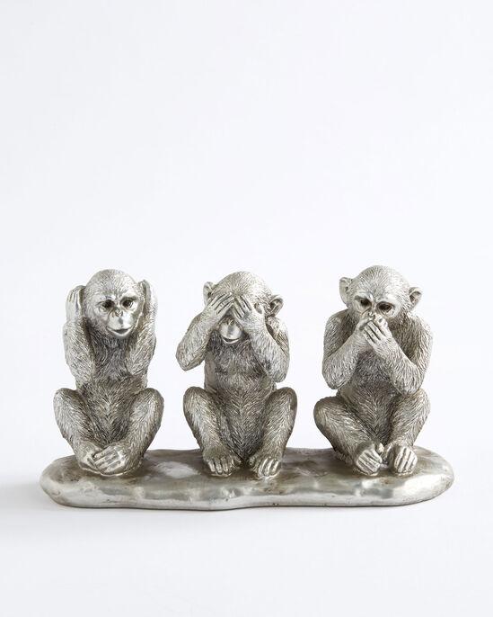 3 Wise Monkeys Ornament