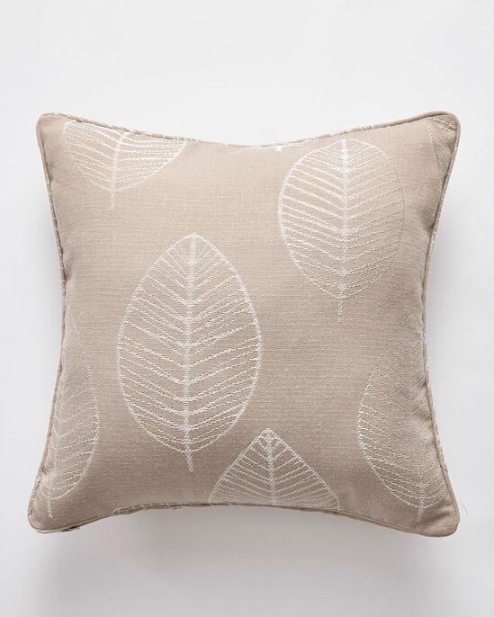 Leaf Jacquard Cushion