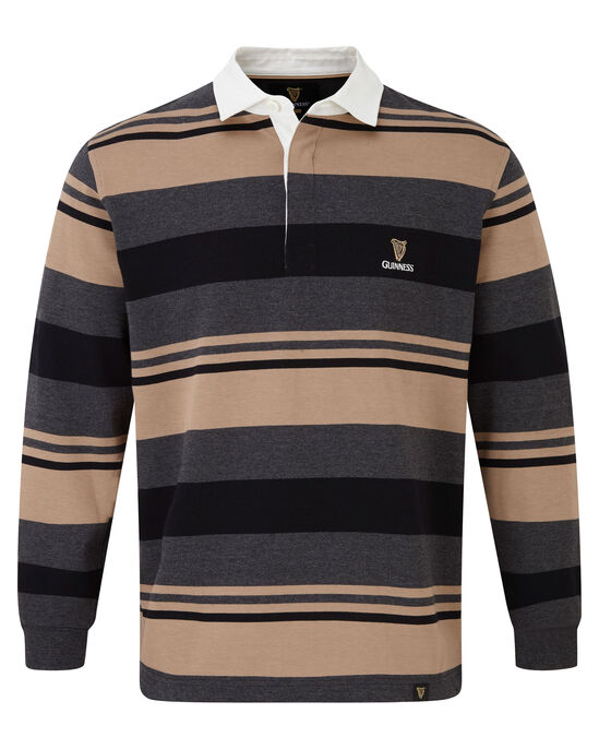 Guinness Variated Stripe Rugby Shirt