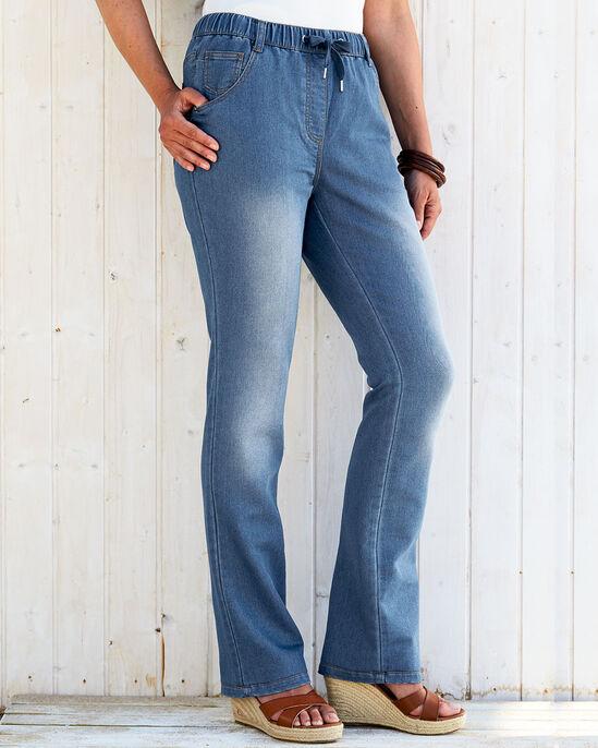 Jersey Denim Jeans