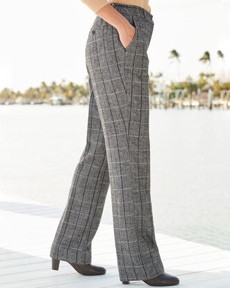 Side Elasticated Waist Trousers