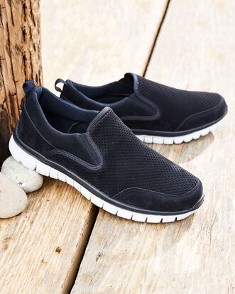 Lightweight Flexi Active Slip-on Trainers
