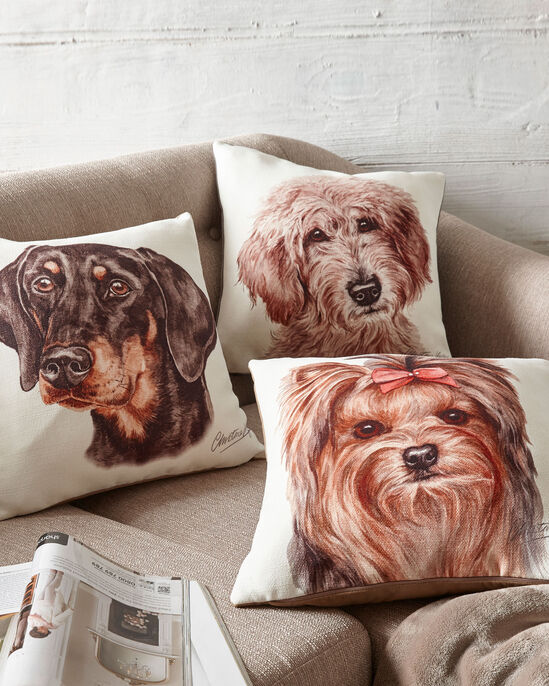 Waggy Dogz Doberman Cushion