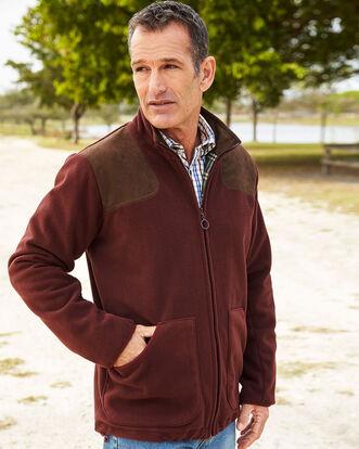 Fleece Check Lined Jacket