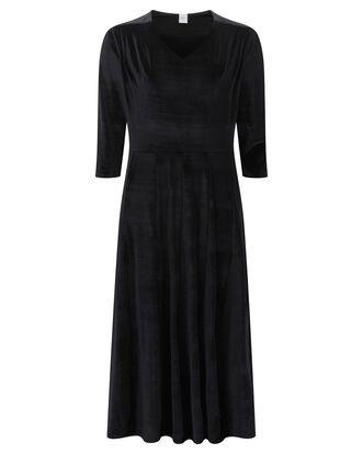 Tummy Control Velour Dress