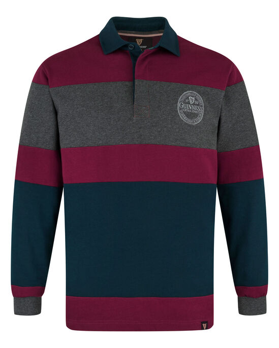 Guinness® Long Sleeve Panelled Rugby Shirt