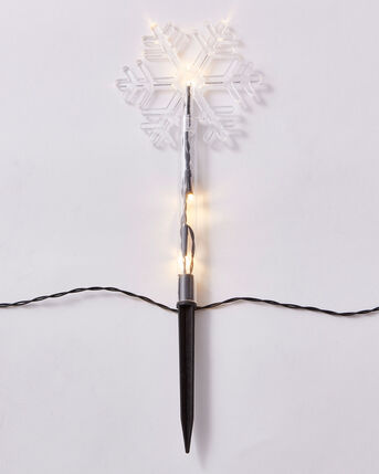 Pack of 8 Snowflake Stake Lights