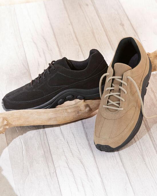 Men's Suede Lace-up Shoes