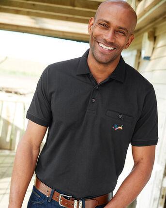 Guinness™ Short Sleeve Jersey Pocket Polo Shirt