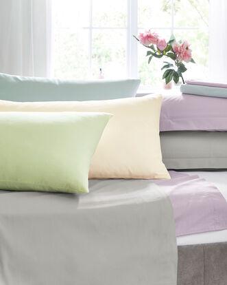 200 Thread Count Cotton Percale Oxford Pillowcase Pair