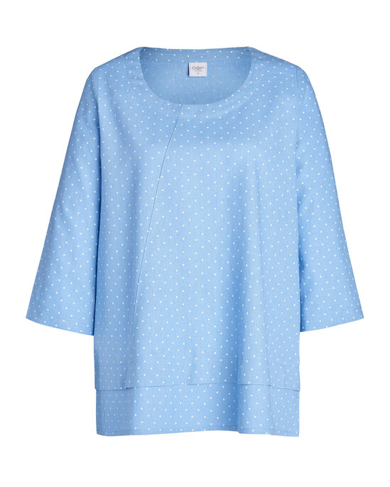 Women's Linen Blend Top