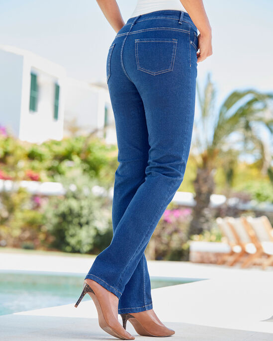 The Slim Leg Jeans (Denim)