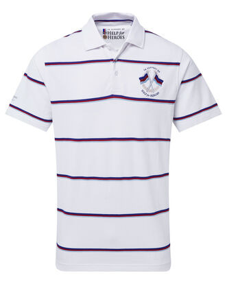 Help For Heroes Tri Stripe Polo Shirt