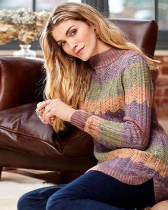 Turtleneck Knitted Tunic