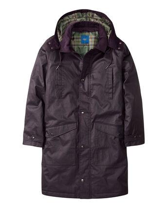 Longline Wax-Look Jacket