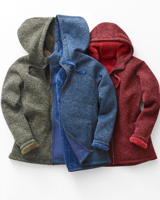 Knitted Fleece Bonded Jacket
