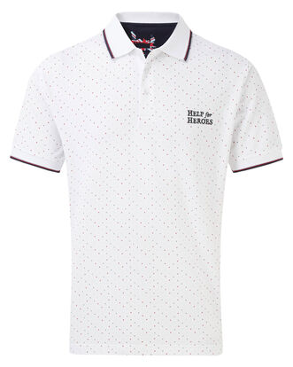 Help For Heroes Spot Polo Shirt