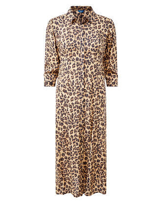 Leopard Frockstar Button-through Dress